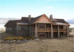 Mountain Home Plans with Basement Mountain House Plans with Walkout Basement Home Design