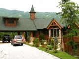Mountain Lodge Home Plans Rear View Adirondack Mountain House Adirondack Mountain