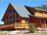 Mountain View Home Plans the Mountain View Log Home Plan