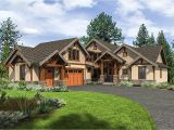 Mountainside House Plans Mountain Craftsman House Plan with 3 Upstairs Bedrooms