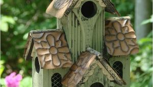Multi Family Bird House Plans Multi Family Bird Houses Woodworking Projects Plans