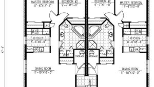 Multi Family Home Floor Plans Six Plex Multi Family Home Plan 90146pd 1st Floor