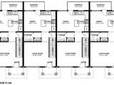 Multi Family Home Plans and Designs 3 Unit Multi Family House Plans Home Deco Plans