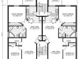 Multi Family Home Plans and Designs Six Plex Multi Family House Plan 90153pd 1st Floor