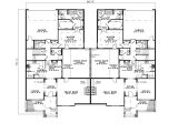 Multi Family Homes Plans Country Creek Duplex Home Plan 055d 0865 House Plans and