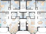 Multi Family Homes Plans Multi Family Plan 64952 Familyhomeplans Com