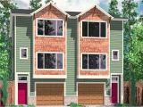 Multi Family House Plans Narrow Lot Multi Family House Plans Narrow Lot