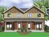 Multi Family House Plans Narrow Lot Narrow Lot Multi Family Home 69464am 2nd Floor Master