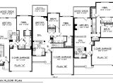 Multi Level Home Floor Plans Multi Family Plan 73483 Familyhomeplans Com