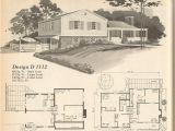 Multi Level Home Plans Vintage House Plans Multi Level Homes Part 2 Antique
