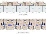 Multi Residential House Plans Multi Family Unit Floor Plans