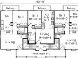 Multi Residential House Plans Multi Family with Residential Look 57086ha