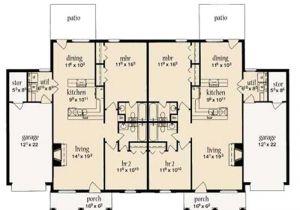 Multi Unit Home Plans Multi Unit House Plans Home Design La Lande 9643