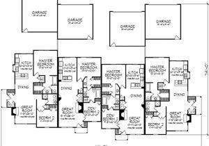 Multi Unit Home Plans Multi Unit Plans Ideas House Plans 50142