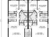 Multiple Family House Plans Six Plex Multi Family Home Plan 90146pd 1st Floor