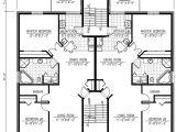 Multiple Family House Plans Six Plex Multi Family House Plan 90153pd Architectural