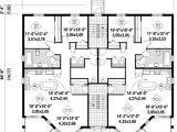 Multiplex House Plans Multi Family House Plans Multi Plex Home Floor Plans at
