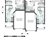 Multiplex House Plans Small Multi Family House Plans