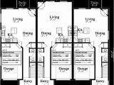 Multiplex House Plans Triplex House Plans 3 Unit House Plans Multiplex Plans