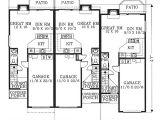 Multiplex House Plans Triplex Single Story Plans Joy Studio Design Gallery