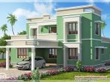 My Home Plans India Indian Flat Roof Villa In 2305 Sq Feet Kerala Home