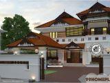 Nalukettu Home Plans Nalukettu Plan and Estimate with Double Story Traditional