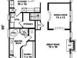 Narrow Homes Floor Plans House Plans for Narrow Lot Smalltowndjs Com