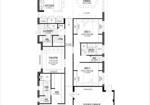 Narrow House Plans with Garage In Back House Design Narrow Lot House Plans with Side Garage