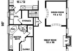 Narrow House Plans with Garage In Back House Plans for Narrow Lot with Garage In Back