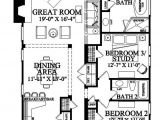 Narrow House Plans with Garage In Back Narrow Lot House Plans with Rear Garage 2018 House Plans