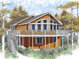 Narrow Lakefront Home Plans Wide Open Lakefront Home Plan 14001dt 1st Floor Master