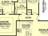 Narrow Lot Home Plans with Rear Garage 19 Surprisingly Narrow Lot House Plans with Rear Garage