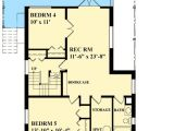 Narrow Lot House Plans with Basement Narrow Lot Cottage House Plan 9818sw Architectural