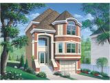 Narrow Lot House Plans with Side Garage Narrow Lot House Plans Garage Under Cottage House Plans