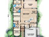 Narrow Lot Mediterranean House Plans Mediterranean House Plan Narrow Lot Mediterranean Home