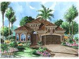 Narrow Lot Mediterranean House Plans Mediterranean House Plan Tuscan Style Mediterranean Villa