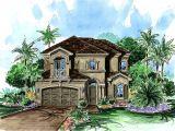 Narrow Lot Mediterranean House Plans Narrow Lot Mediterranean 66086we Architectural Designs
