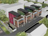 Narrow Lot Multi Family House Plans Multi Family House Plans Narrow Lot