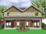 Narrow Lot Multi Family House Plans Narrow Lot Multi Family Home 69464am 2nd Floor Master