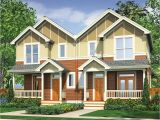 Narrow Lot Multi Family House Plans Narrow Lot Multi Family Home 69464am Architectural