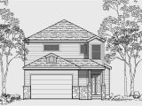 Narrow Two Story Home Plans Narrow Lot House Plans Building Small Houses for Small Lots