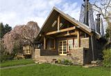 Natural Home Plans Stone Cottage In the Woods Wood and Stone House Exteriors