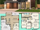 New Home Designs Floor Plans Modern House Plans Architectural Designs Modern House