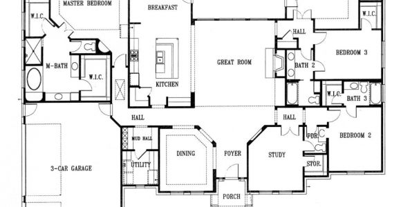 New Home Designs Floor Plans Unique New Homes Floor Plans New Home Plans Design