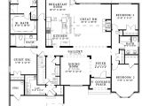 New Home Open Floor Plans the House Designers Design House Plans for New Home Market
