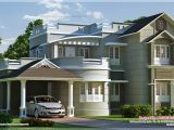 New Home Plan New Style Home Exterior In 1800 Sq Feet Kerala Home