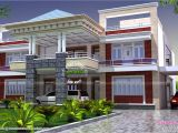 New Home Plans Indian Style north Indian Luxury House Kerala Home Design and Floor Plans