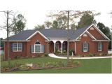 New Home Plans Ranch Style Brick Vector Picture Brick Ranch House Plans