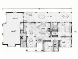 New Home Plans Ranch Style One Story House Plans with Open Floor Plans Design