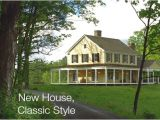 New Home Plans that Look Like Old Homes New Houses Being Built with Classic New England Style